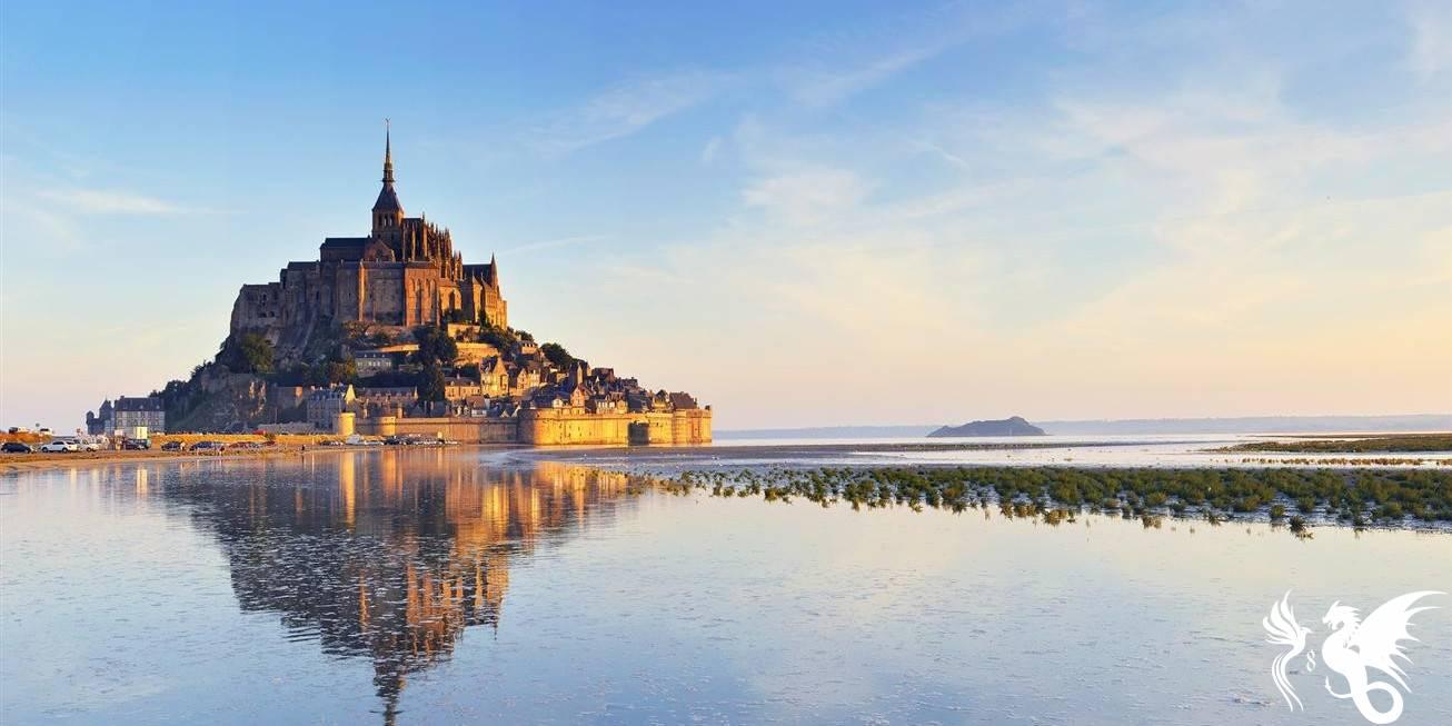 La linea di san Michele: Mont Saint-Michel, la vera Minas Tirith