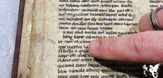 Frammenti della pergamena di Merlino raccontano una storia diversa