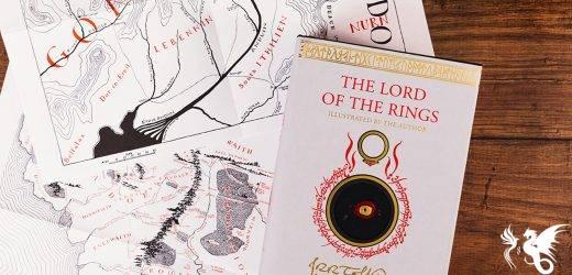 """Disegni, dipinti e schizzi realizzati da Tolkien nella nuova edizione inglese de """"Il Signore degli Anelli"""""""